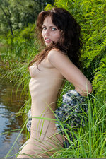 Teen nudity in the warm lake-02