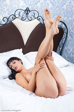 Yarina Is Naked In Her Bedroom-11