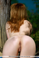 Naked Lovely Niki Posing Outdoor-14
