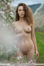 Busty Vika Posing Outdoor-15