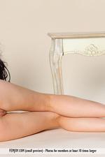 Naked Black Haired Girl Joanna-07