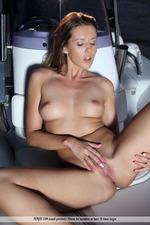 Naked Cute Davina Posing On A Boat-08