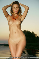 Rena Is Naked By The Sunset-08