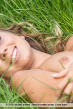Sexy Teen Linda Having Fun At The Field-13