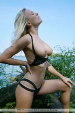 Busty Vika Having Fun Outdoors-01