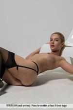Xana Posing In Sexy Stockings-04