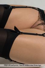 Xana Posing In Sexy Stockings-08
