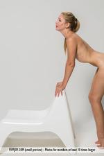 Xana Posing In Sexy Stockings-15