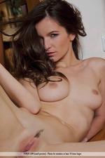 Naked Brunette Girl Myla-15