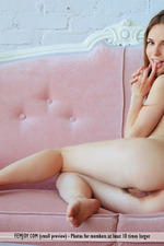Cute Teen Sofie Shows Her Hairy Pussy-06