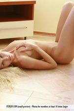 Naked Blonde Liza-08
