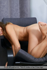 Naked Brunette Chick Arina-10