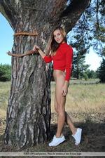 Benita Gets Naked Outdoors-00