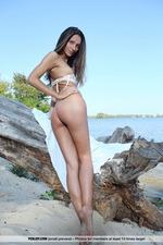Sveta Shows Her Hot Body Outdoors-11