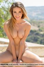 Rena Having Fun Outdoors-12
