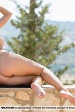 Rena Having Fun Outdoors-14