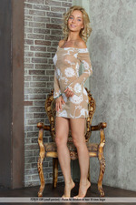 Busty Blonde Annabell Gets Nude-00