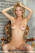 Busty Blonde Annabell Gets Nude-05
