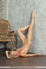 Busty Blonde Annabell Gets Nude-14