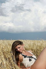 Teen Nudity Under The Blue Sky-01