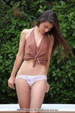 Naked Adorable Lorena Having Fun Outdoor-00