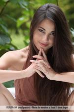 Naked Adorable Lorena Having Fun Outdoor-01