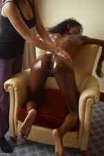 Ebony pussy massage-06