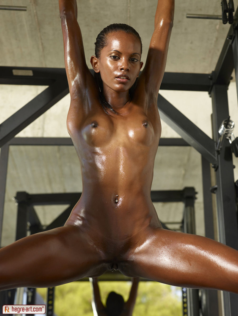 Nude ebony oiled, pale pornstar database