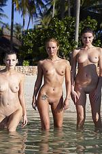 Naked sexy beach girls-14