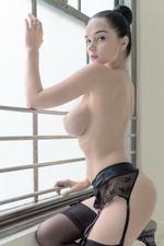 Eugenia Posing In Stockings-01