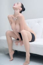 Eugenia Posing In Stockings-03