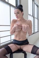 Eugenia Posing In Stockings-07