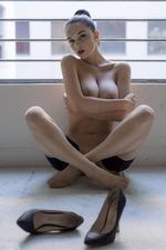 Eugenia Posing In Stockings-08