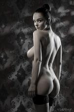 Eugenia Posing In Stockings-09