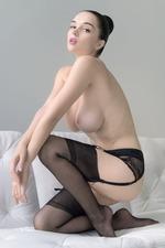 Eugenia Posing In Stockings-14