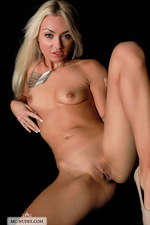Naked Victoria playing with her pussy-11