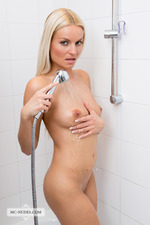 Busty April Takes A Shower-08