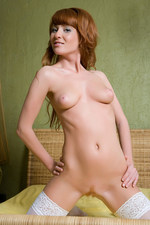 Naked hot assed redhead-08