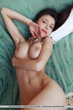 Busty Mila Posing In Her Bedroom-09
