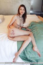 Busty Mila Posing In Her Bedroom-14