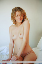 Mila Is Naked In Her Bed-11