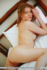 Mila Is Naked In Her Bed-15