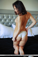 Lily White Is Naked In The Bedroom-13