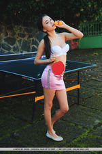 Li Moon Playing Table Tennis-12