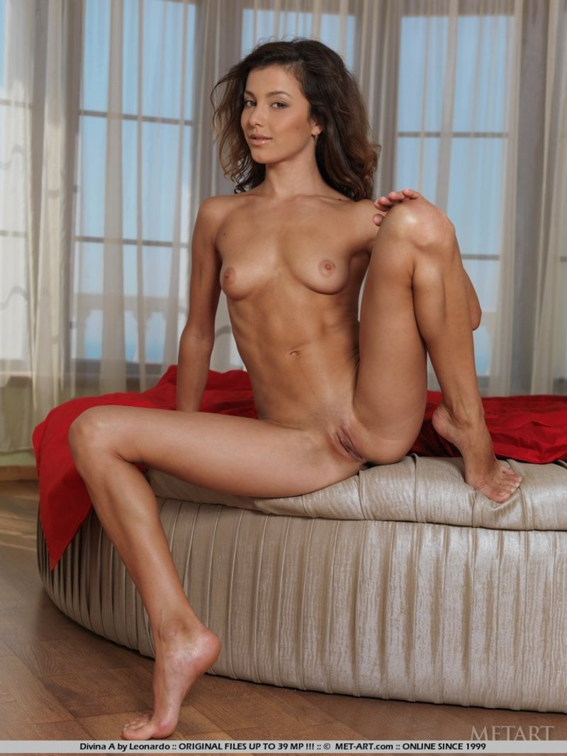 naked brunette girl with nice ass - free gallerymet-art