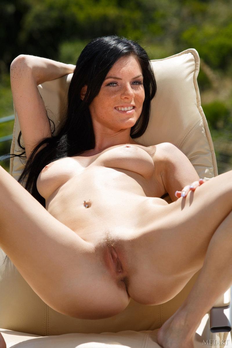 Freckled Naked Girls Ass