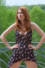 Teen redhead undressing for us-06