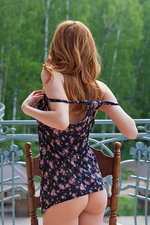 Teen redhead undressing for us-09