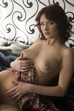 Busty brunette strips for us-06