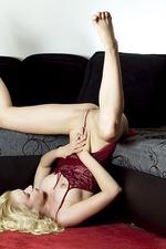 Hot Blonde Nika Masturbating-04